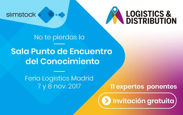 Sala Punto de Encuentro del Conocimiento de Slimstock y MeetLogistics | Logistics Madrid 2017